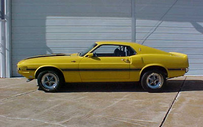 1970 Shelby GT 500 Fastback